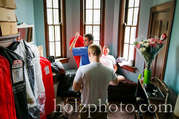 Megan and Josh Color Wedding Photos