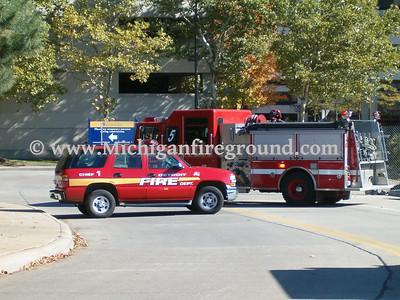 10/29/05 - Detroit natural gas leak, W. Jefferson & Sixth