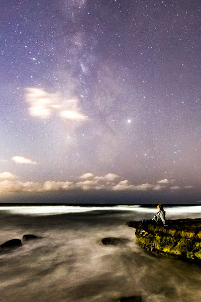 Swami's Stargazing Selfie