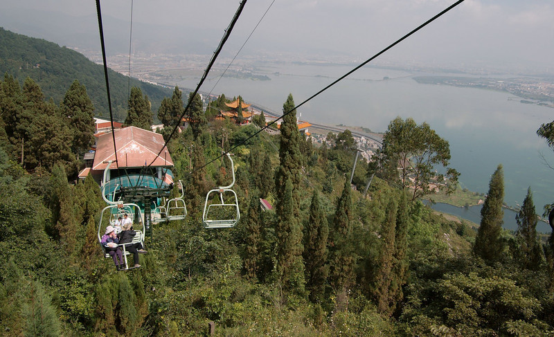 20080922_0009 Chairlift to the Dragon Gate, Western Hills.