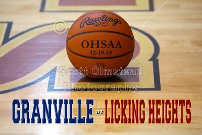2015 Granville at Licking Heights (12-19-15) VARSITY