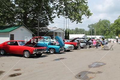 Fair car show