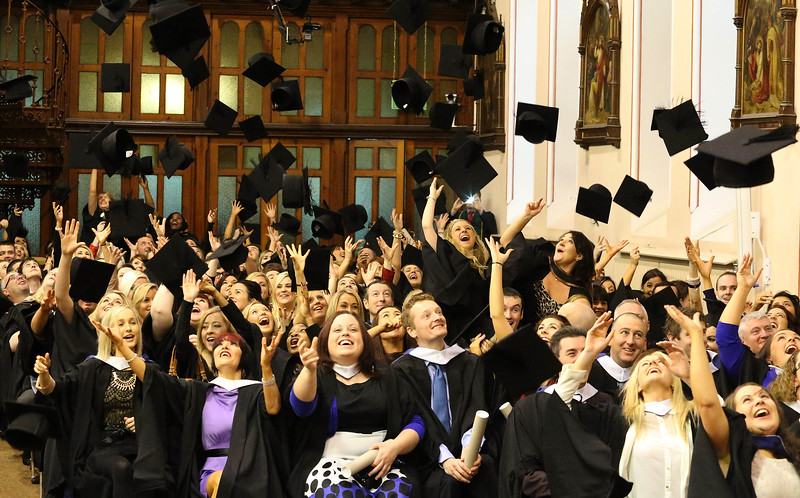 Waterford Institute of Technology Conferring. Picture: Patrick Browne.