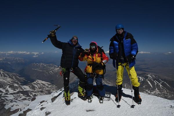 Mt. Elbrus April 29 - May 4. 2018