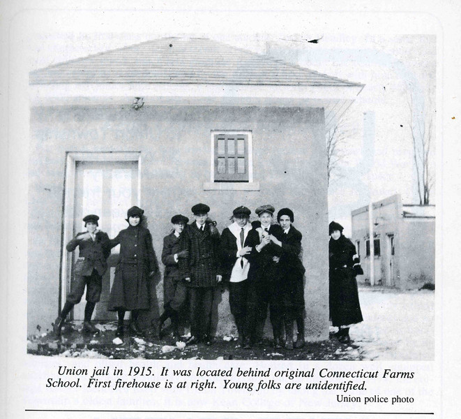 Town Jail 1915 Behind Town Hall Present Site of Connecticut Farms School.jpg