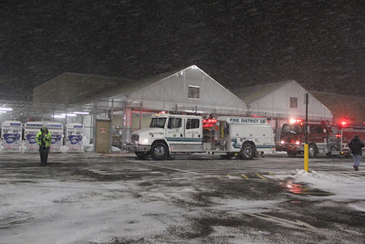 Structure Fire, WalMart, Hometown (2-18-2014)