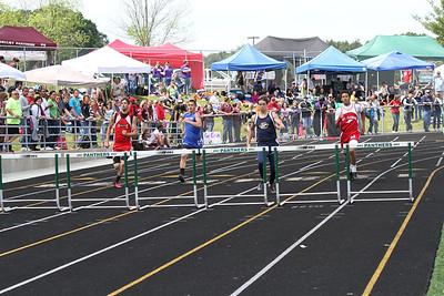 Boy's 300 Meter Hurdles - 2012 MHSAA LP D3 T&F