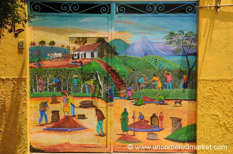 Colorful Gate - Juayua, El Salvador