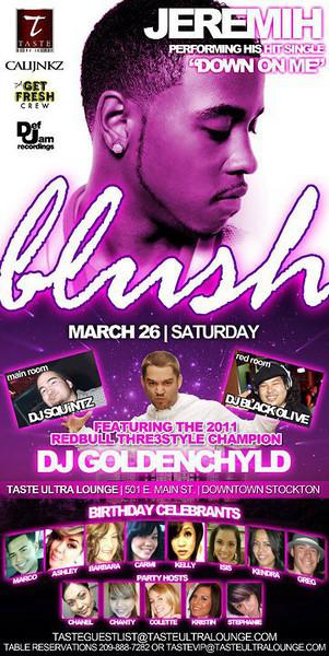 Blush @ Taste Ultra Lounge 3.26.11