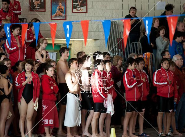 2011-01-08 Swimming Varsity Cardinal Classic