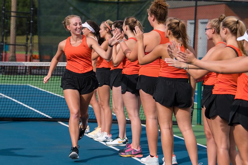 Girls Tennis 2018 -V- Mounds Park Academy