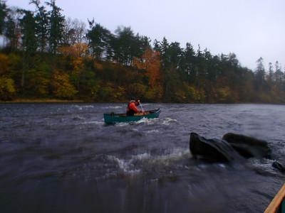 Canoeing the Upper Tweed