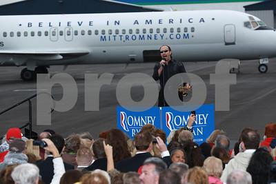 Mitt Romney & Paul Ryan on the campaign trail: Dayton, Ohio