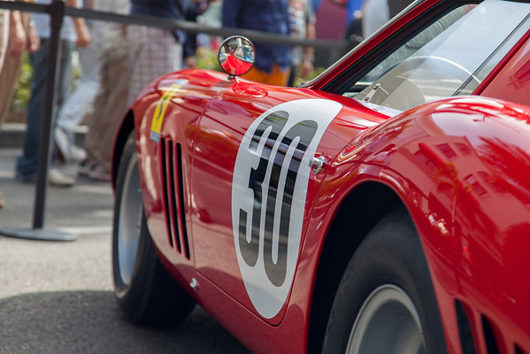 Ferrari 60th Anniversary celebration on Rodeo Drive