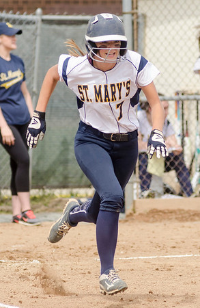 St. Mary's-Austin Prep softball