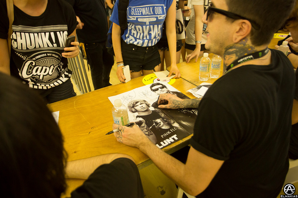 Always rad seeing some of my photos getting signed