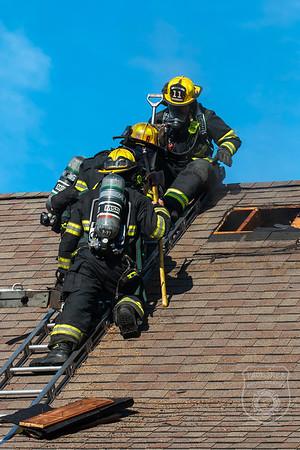 Dwelling Fire - Oakmont Rd, Worcester, MA - 8/28/2020
