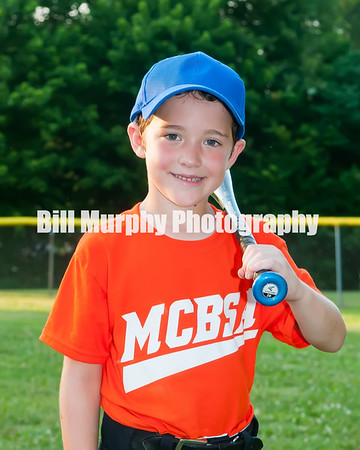 2016 5-6 Boys Baseball Orange Team June 21, 2016