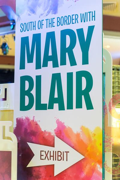 Mary Blair Art Exhibit - Epcot International Festival of the Arts 2017
