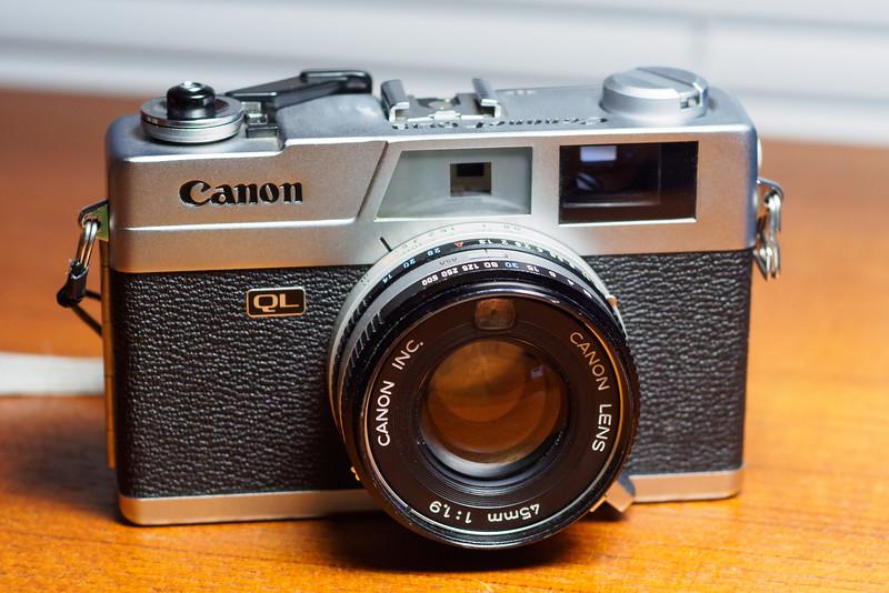 "Canon ""New"" Canonet  QL19 - 1971"