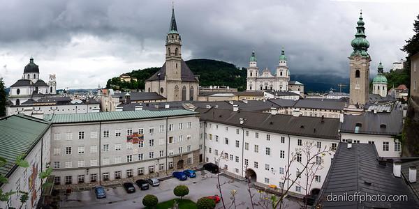 Salzburg, Austria - June 2016