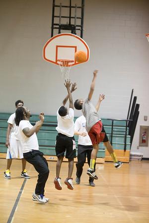 Basketball April 2012