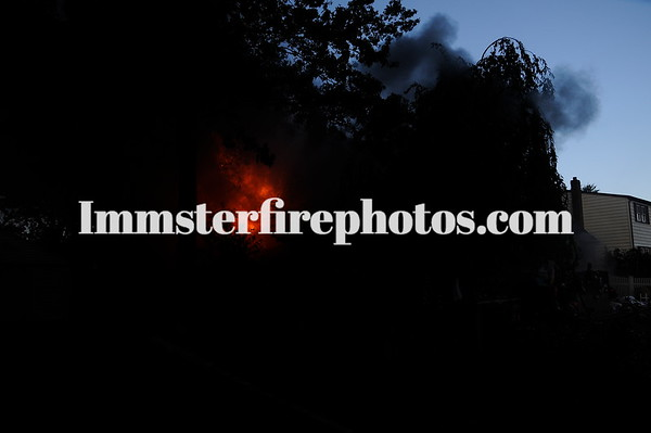 N Mass house fire