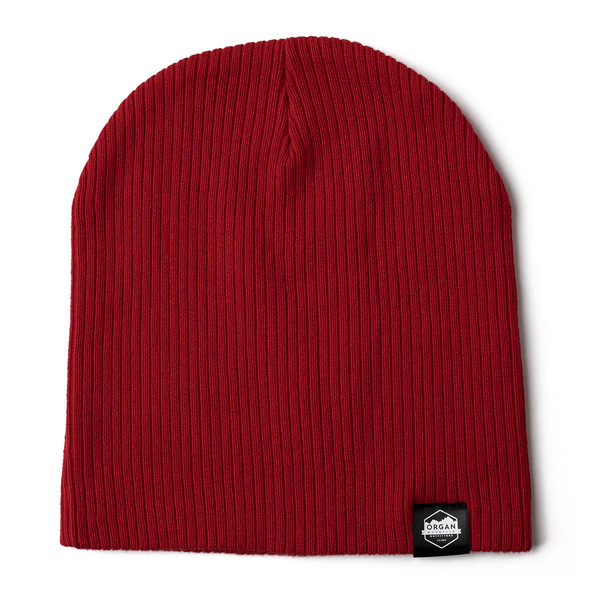 Outdoor Apparel - Organ Mountain Outfitters - Hat - Ribbed Skully Knit Beanie - Red.jpg