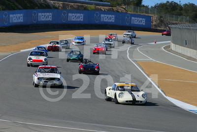 Group 7B 2014 Rolex Monterey Motorsport Reunion Race