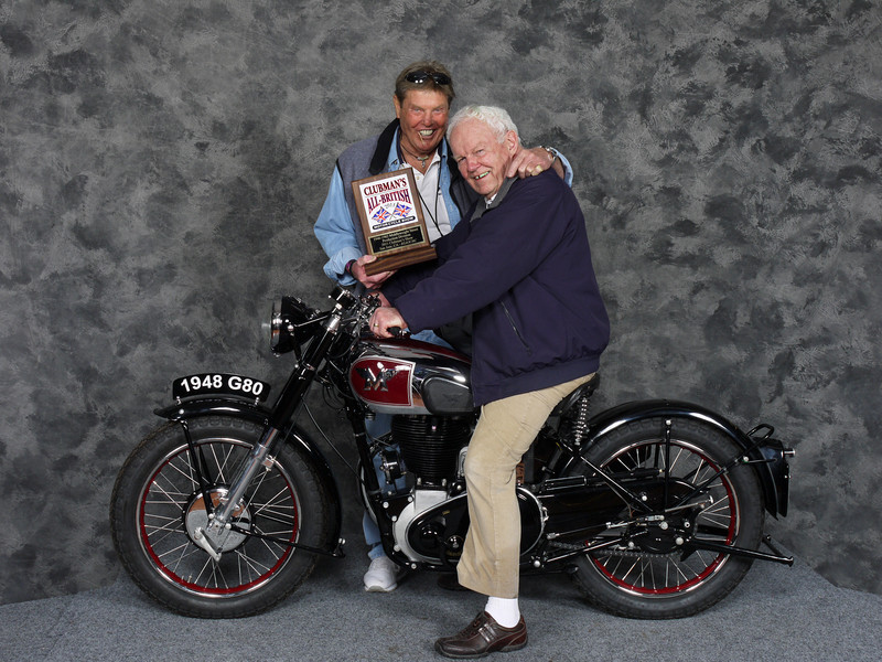 John Niesley, Street Middleweight 1946-1962, Production - 1948 Matchless G80
