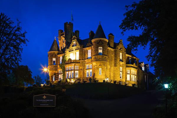 Sherbrooke Castle Hotel Exteriors
