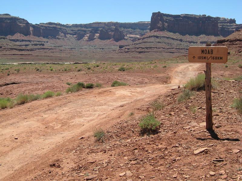 Moab 105 miles (the hard way)