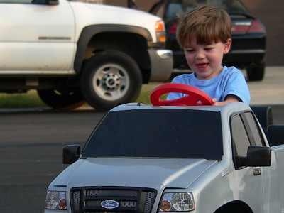 2007 Tyler Riding His Truck