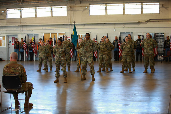 119th Mobile Public Affairs Detachment Deployment Ceremony