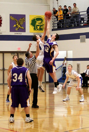 Monticello Ponies Basketball 2/25/11