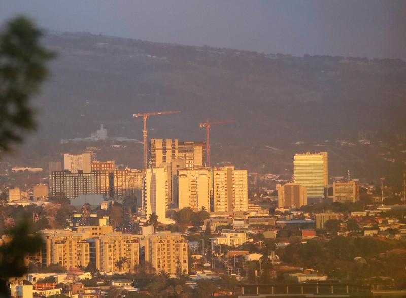 Vista Aérea de La Sabana y San Jose