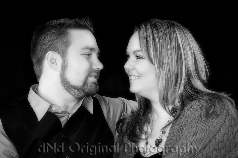 Jon & Nikki B&W Soft Focus