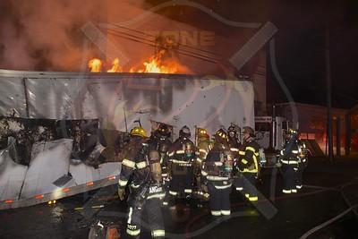 Farmingdale F.D. Truck Fire   Eastern Pkwy.  12/27/17