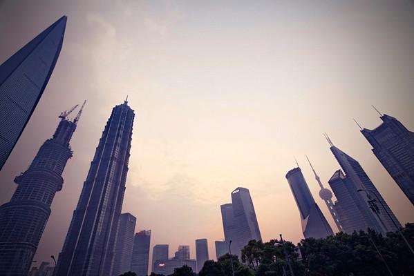 Les gratte-ciels de Pudong