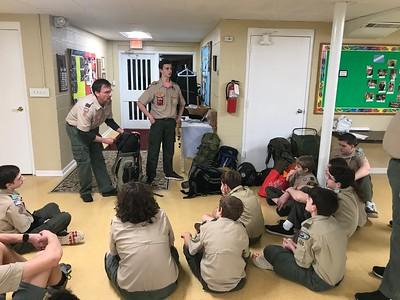 2018 Troop Meetings