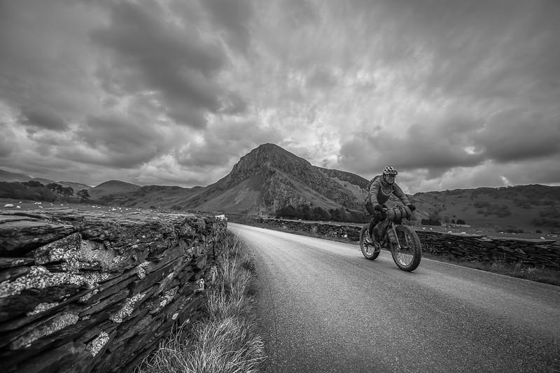 Riding past Bird Rock whilst Bike packing.