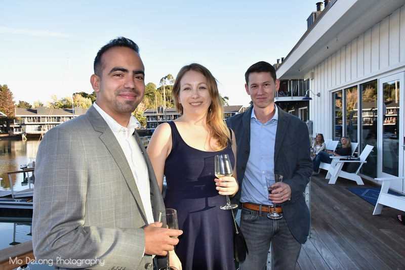 Rodrigo Setti, Jessica Gliddon and Derrick Whittle