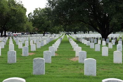 Swear-In at Fort Sam Houston National Cemetary