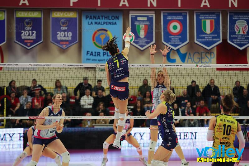 IMOCO VOLLEY CONEGLIANO 2 - SAVINO DEL BENE SCANDICCI 0 Semifinale Coppa Italia A1f PalaYamamay, Busto Arsizio (VA) - 1 febbraio 2020