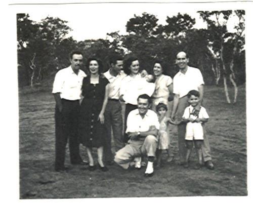 28 de Outubro  1951 Melo Abreu e D. Ester, Casal Videira , Champlon e?