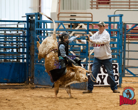 Cole Brooks steer riding