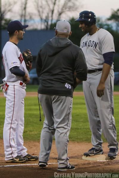London Majors at Brantford Red Sox Season Opener May 13, 2017