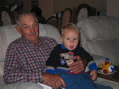 Grandpa Bert Memorial Pictures