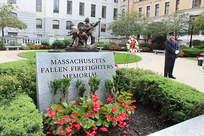 Mass. Fallen Firefighter Memorial - Sept. 11, 2018