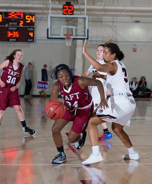 12/7/16: Girls' Varsity Basketball v Pomfret School
